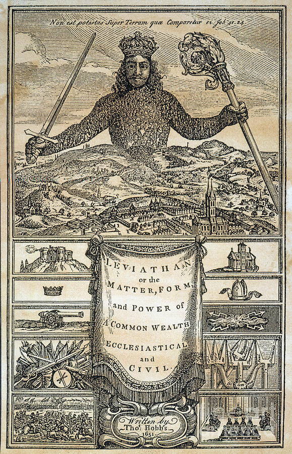 Hobbes: Leviathan, 1651 Photograph by Granger