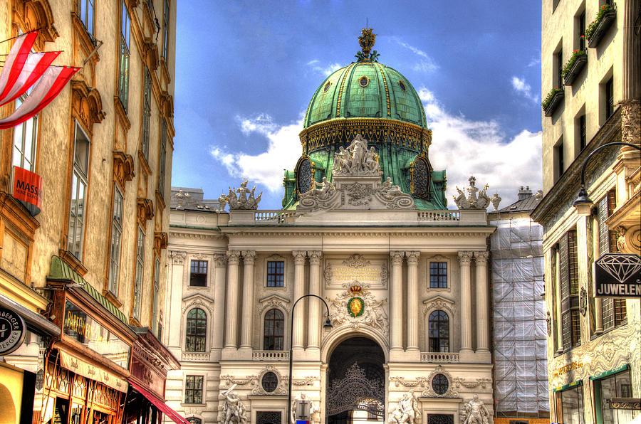 Hofburg Palace Photograph - Hofburg Palace - Vienna by Jon Berghoff