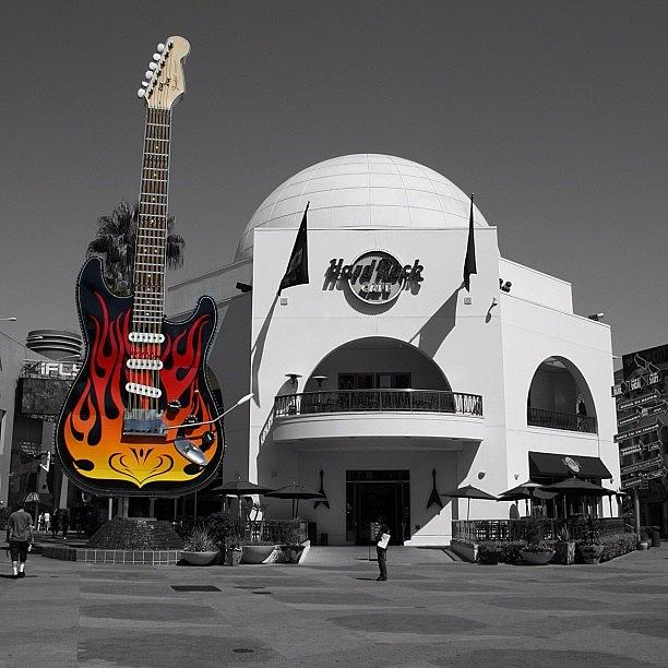 Losangeles Photograph - Hollywood by Luisa Azzolini
