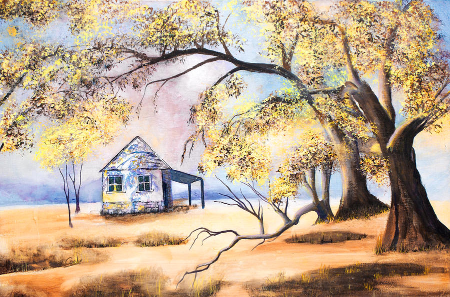 Watercolor Painting - Home Home On The Range by Coralie Smyth