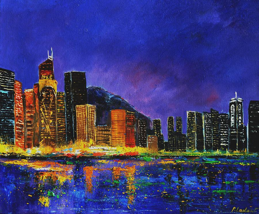 hong kong painting by pol ledent