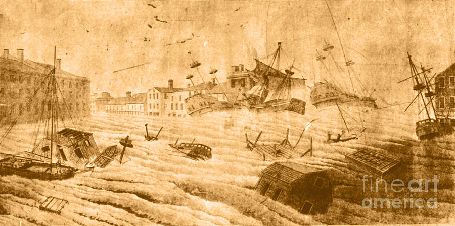 Weather Photograph - Hurricane, 1815 by Science Source