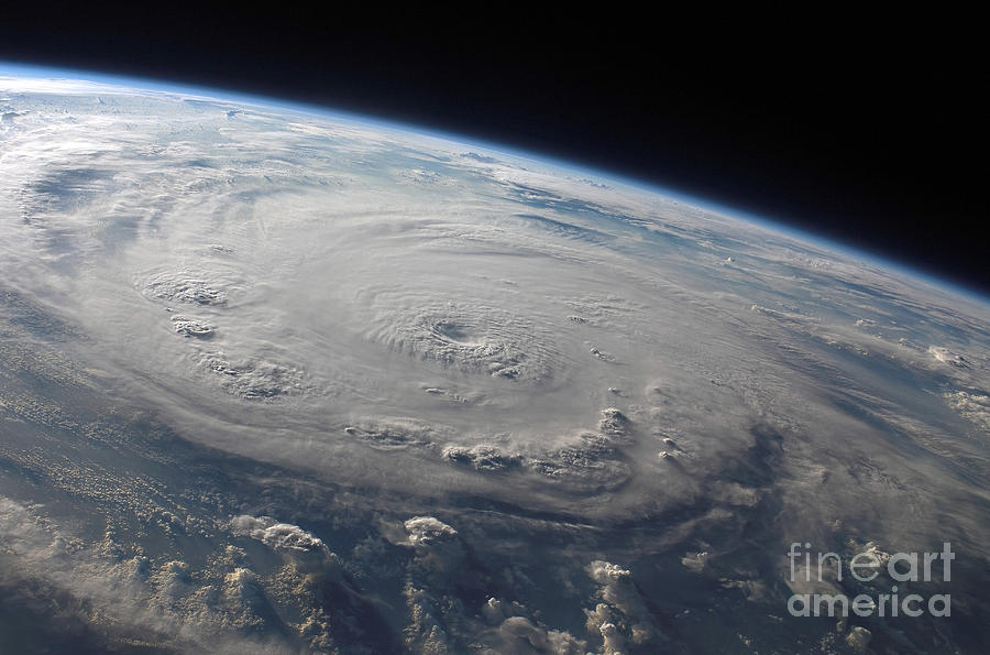 Caribbean Photograph - Hurricane Felix Over The Caribbean Sea by Stocktrek Images