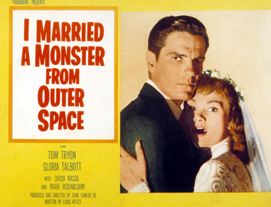 Husband And Wife Photograph - I Married A Monster From Outer Space by Everett