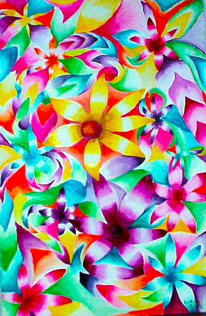 Flowers Painting - Infinite Fruitfulness by Linda Pope