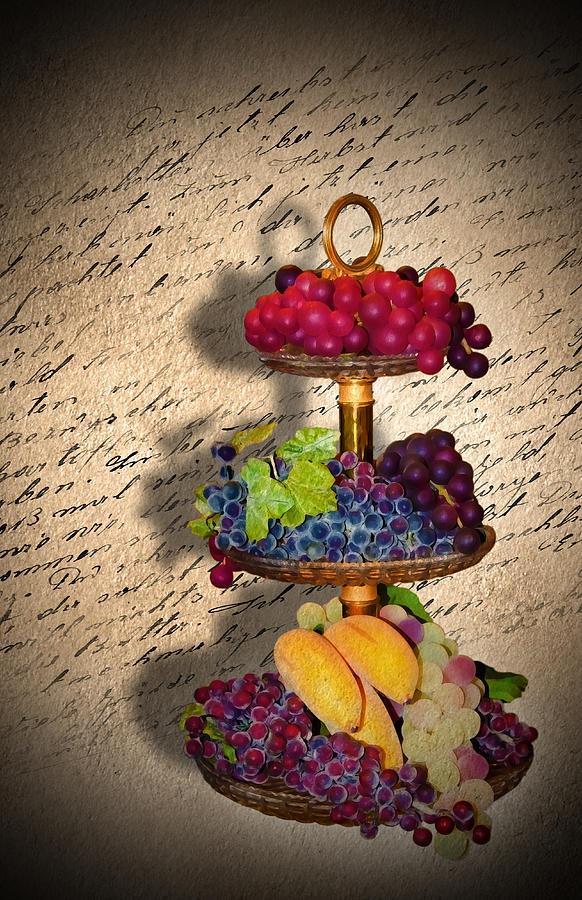 Vase Digital Art - Invitation by Svetlana Sewell