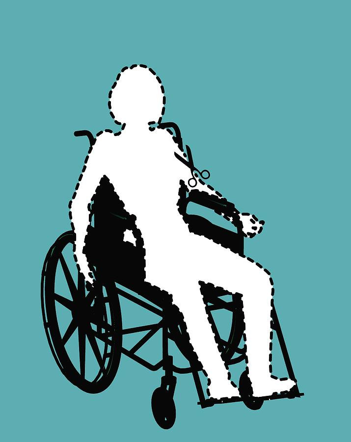 Equipment Photograph - Isolation Through Disability, Artwork by Stephen Wood