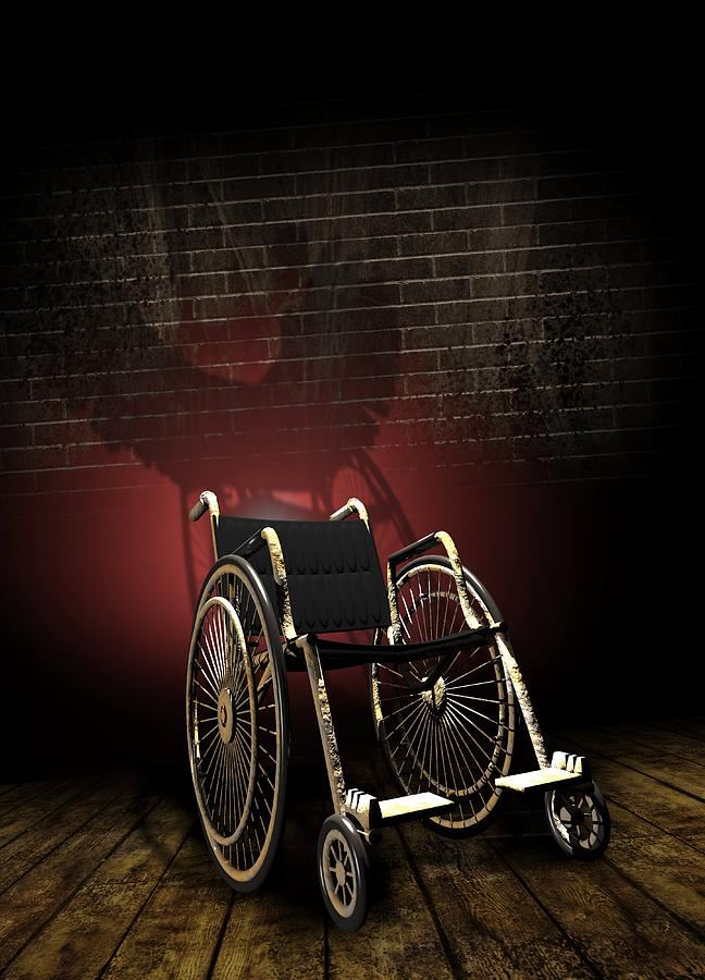 Equipment Photograph - Isolation Through Disability, Artwork by Victor Habbick Visions