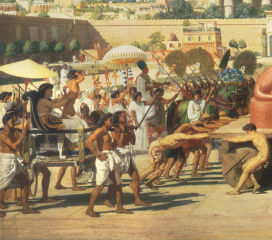 Lioness Painting - Israel In Egypt by Sir Edward John Poynter