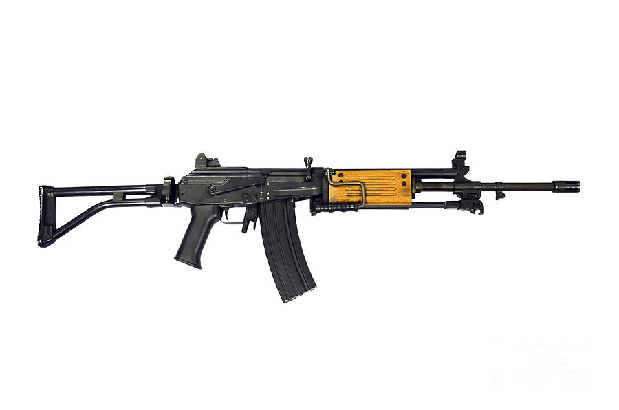 Israeli Galil 5 56mm Assault Rifle Photograph By Andrew