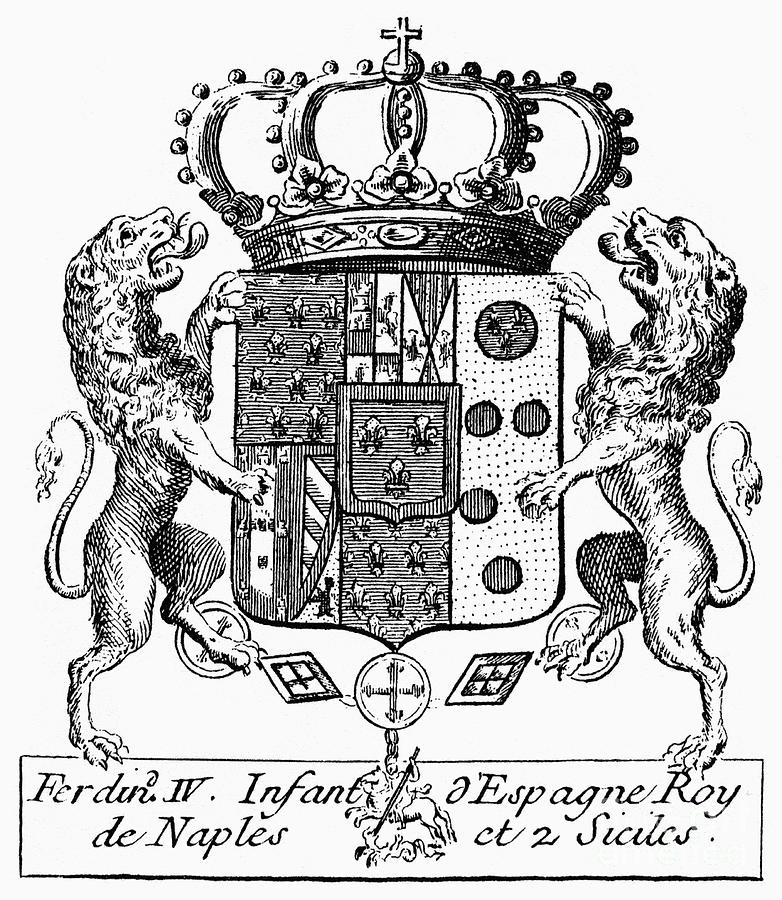 Italian Coat Of Arms Photograph By Granger
