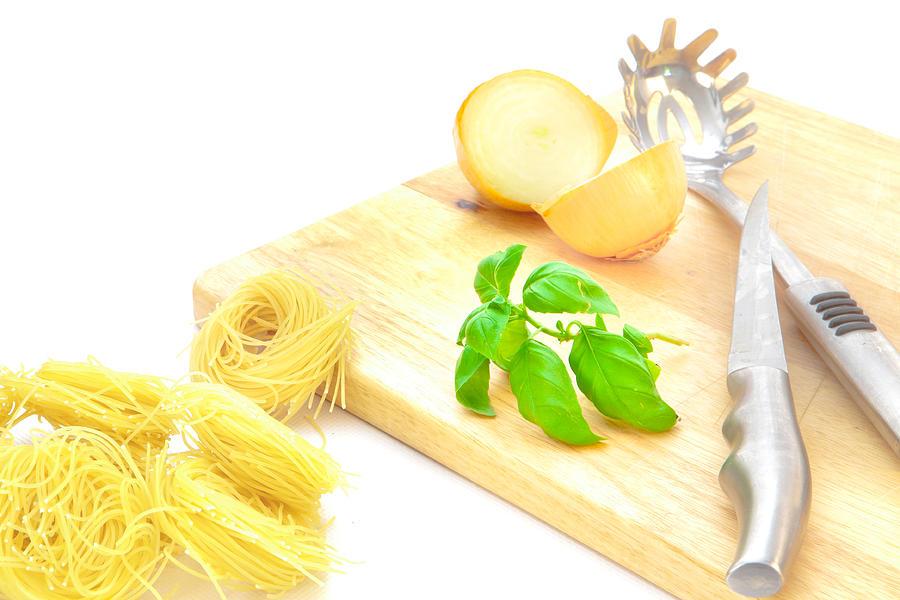 Background Photograph - Italian Food by Tom Gowanlock