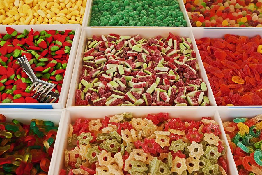 Sweets Photograph - Italian Market by Joana Kruse