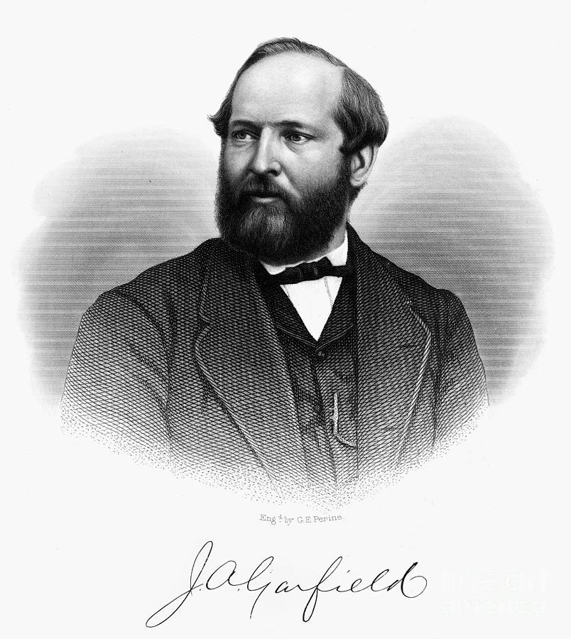 1870s Photograph - James A. Garfield (1831-1881) by Granger