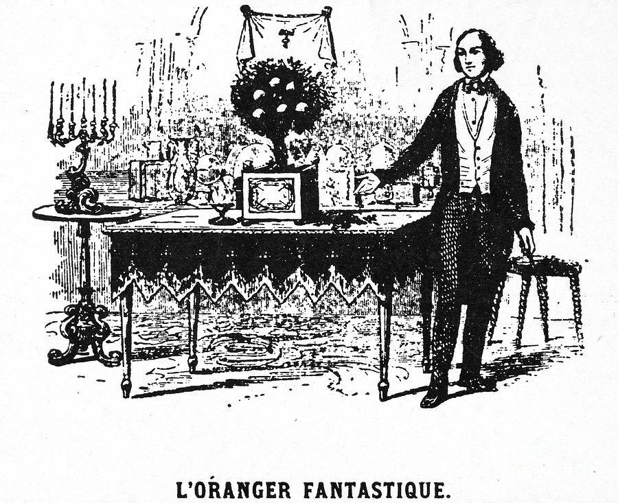 1859 Photograph - Jean Eugene Robert Houdin by Granger
