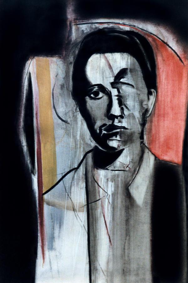 Genet Painting - Jean Genet by Fabrice Plas