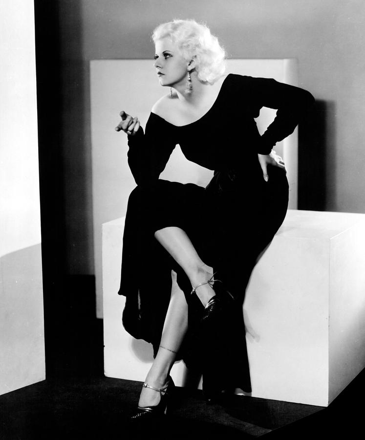 1930s Fashion Photograph - Jean Harlow, 1932 by Everett