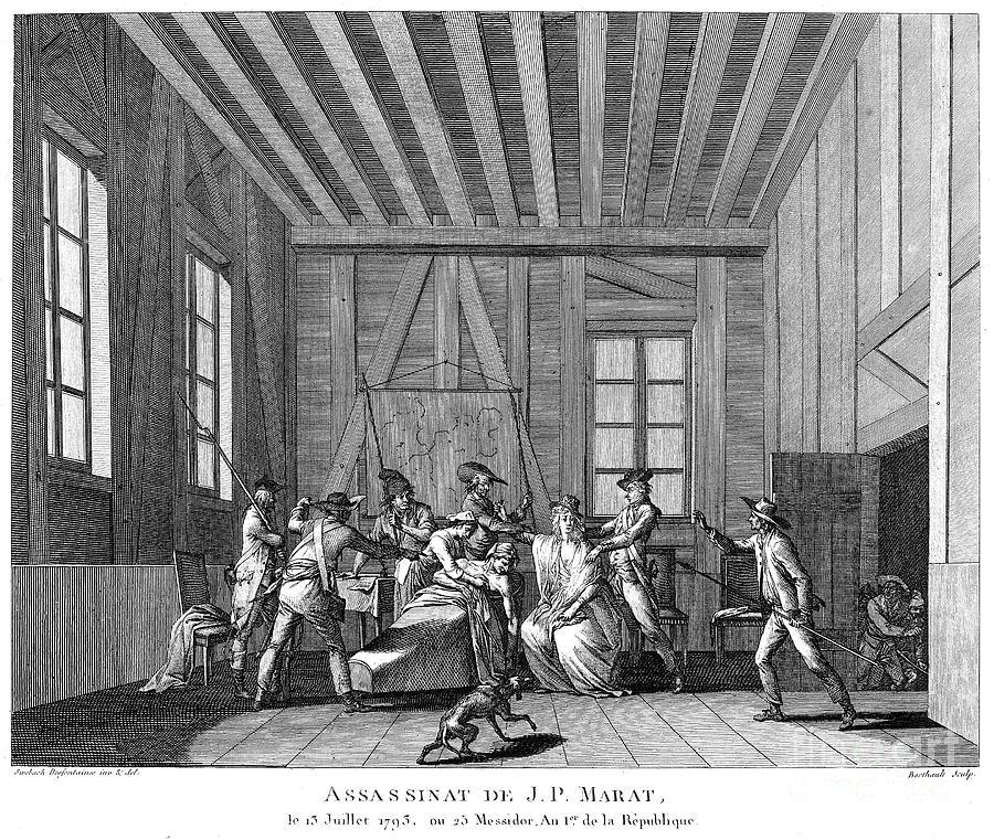 1793 Photograph - Jean-paul Marat (1743-1793) by Granger