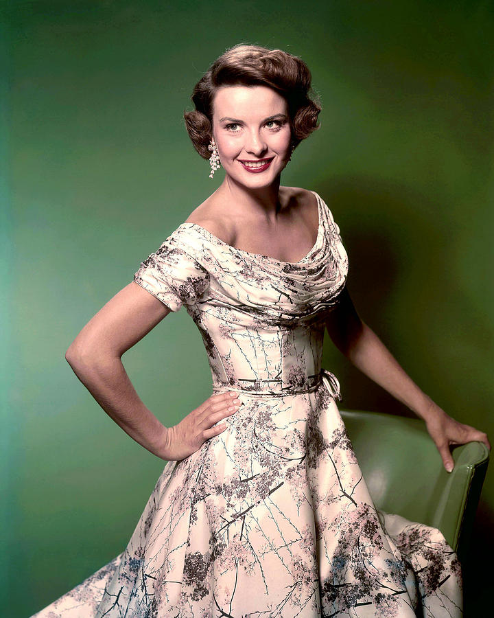 1950s Fashion Photograph - Jean Peters, Ca. 1950s by Everett