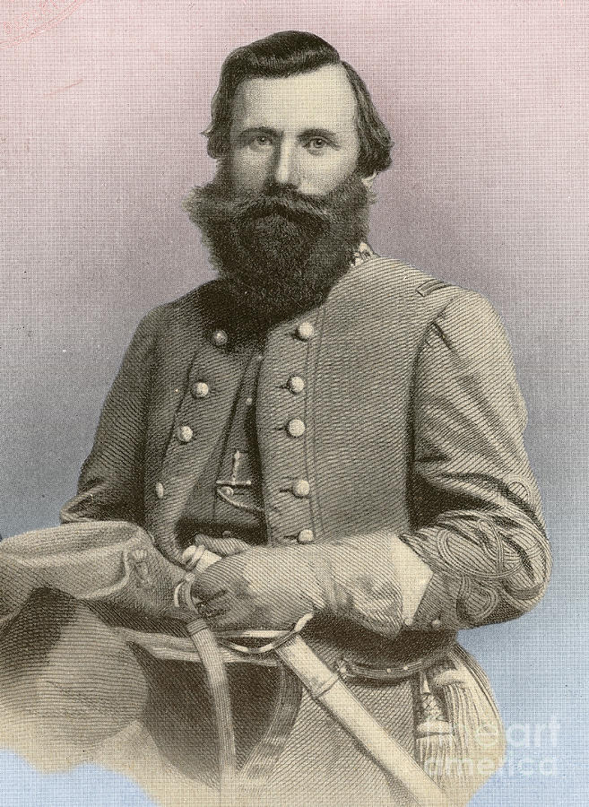 Jeb Stuart Confederate General Photograph By Photo