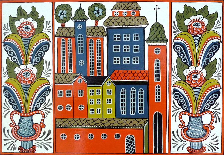 Jerusalem Painting - Jerusalem by Leif Sodergren