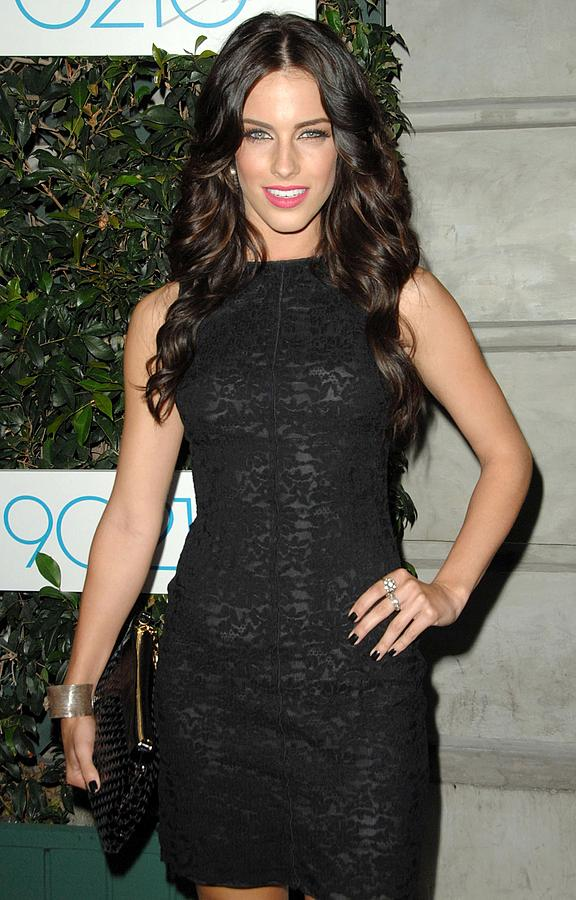 Premiere Photograph - Jessica Lowndes At Arrivals For 90210 by Everett