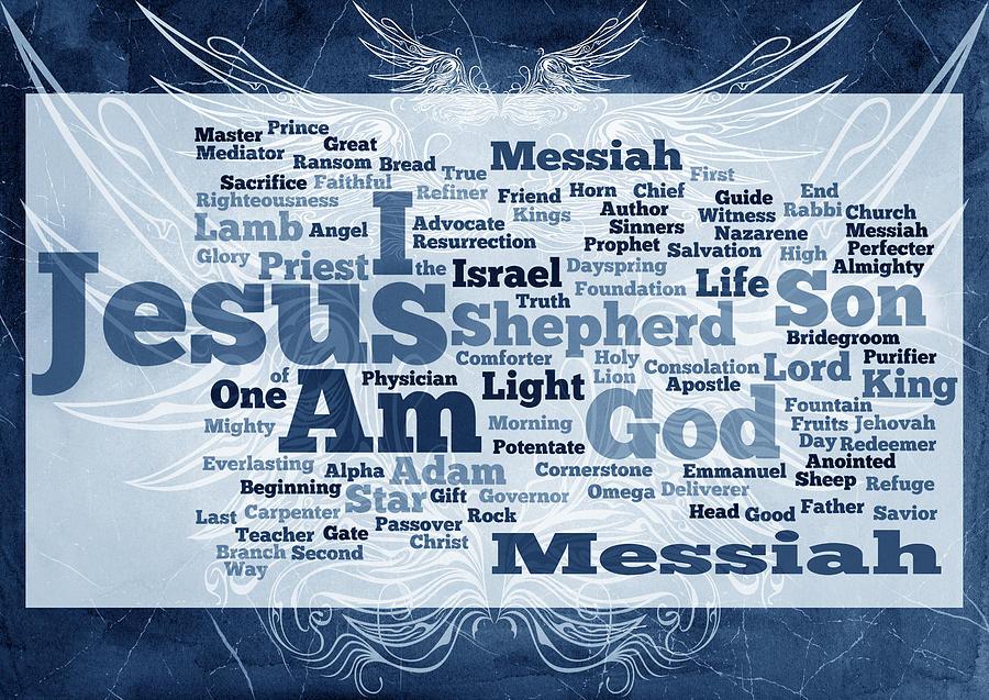Advocate Digital Art - Jesus Messiah 2 by Angelina Vick