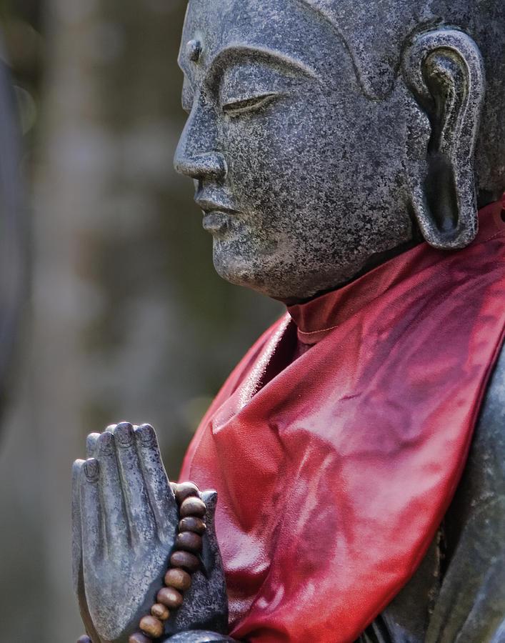 Jizo Photograph - Jizo by Karen Walzer