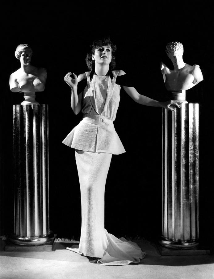 1930s Fashion Photograph - Joan Crawford, Ca. 1930s by Everett
