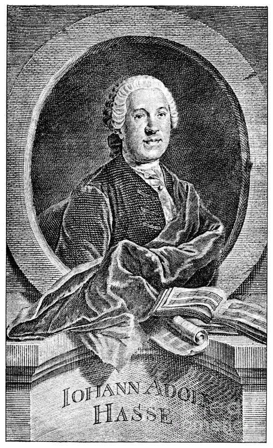 18th Century Photograph - Johann Adolf Hasse by Granger