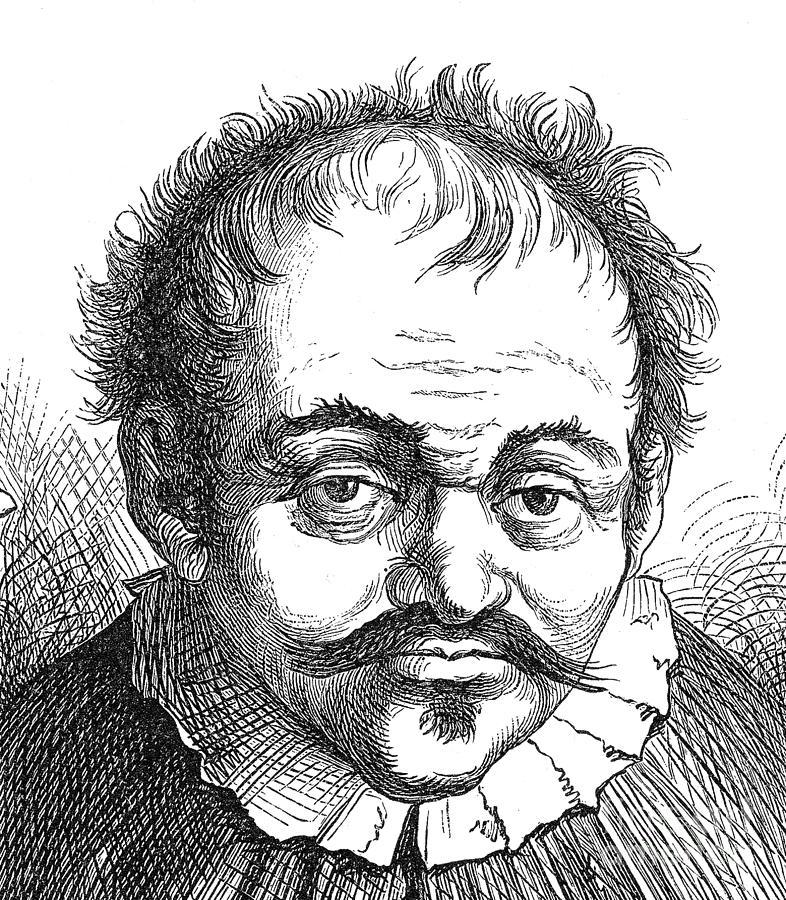 Science Photograph - Johann Georg Faust, German Alchemist by Science Source