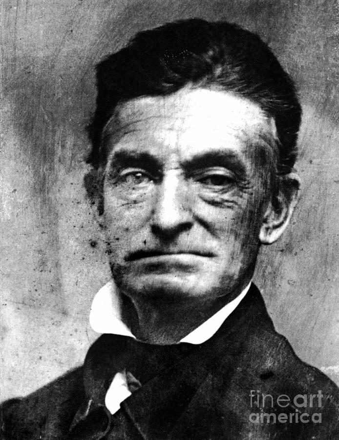 1856 Photograph - John Brown (1800-1859) by Granger