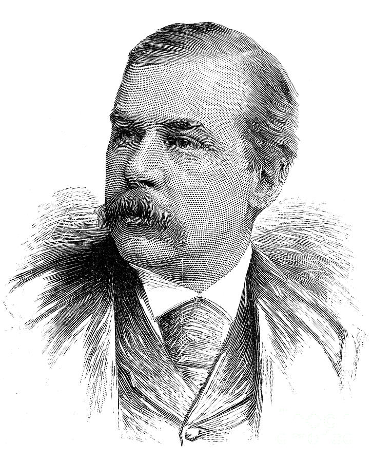1890 Photograph - John Pierpont Morgan by Granger