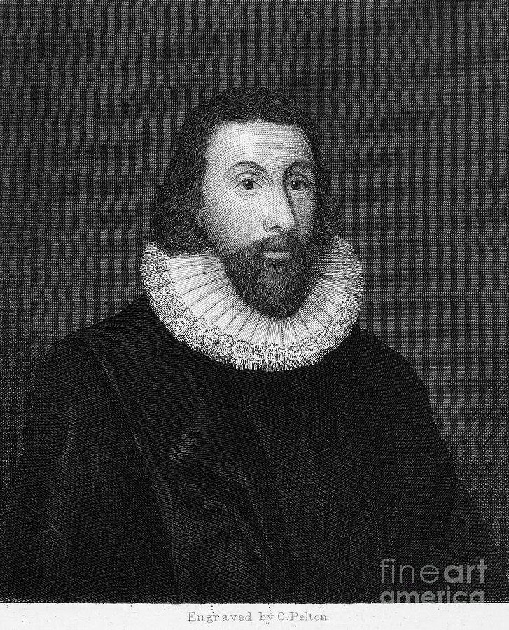 16th Century Photograph - John Winthrop (1588-1649) by Granger