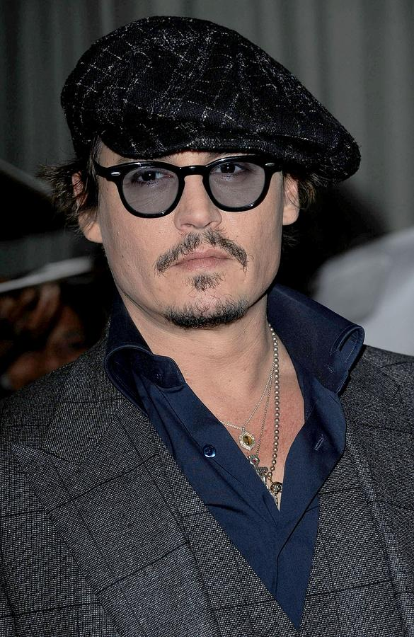 Johnny Depp At Arrivals For Playboy Photograph by Everett 4be6f7b504e