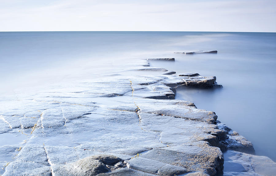 Kimmeridge Bay Photograph by Brian Lawrence