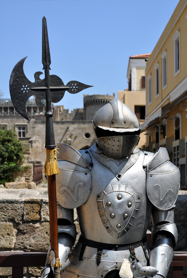 Armor Photograph - Knight Armor. by Fernando Barozza