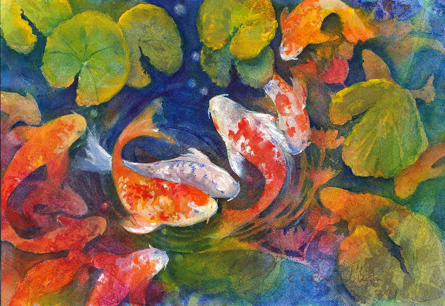 Acrylic Paintings Lily Pads
