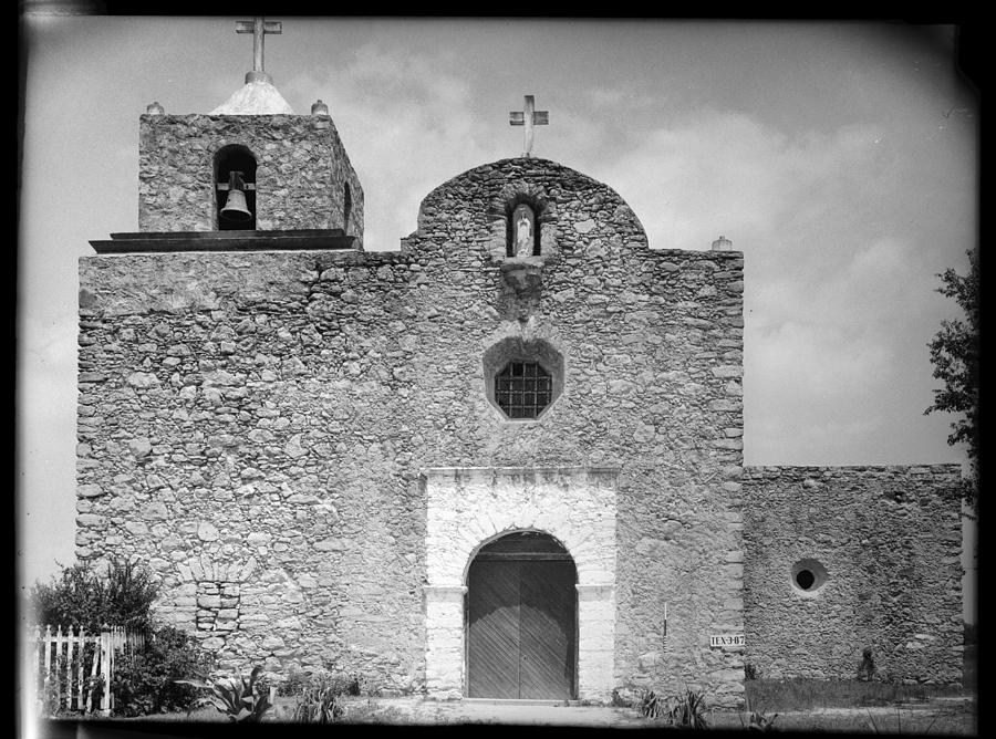 La Bahia Presidio Chapel Goliad Photograph By Everett