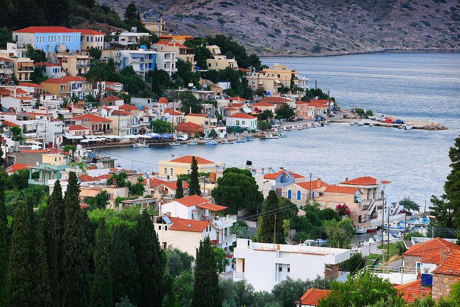 Agios Isidoros Photograph - Lagada. Chios Greece  by Emmanuel Panagiotakis