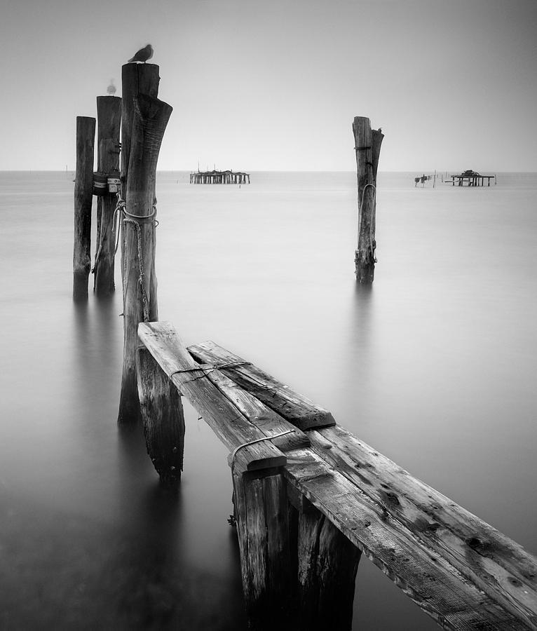 Venice Photograph - Laguna Veneto by Nina Papiorek