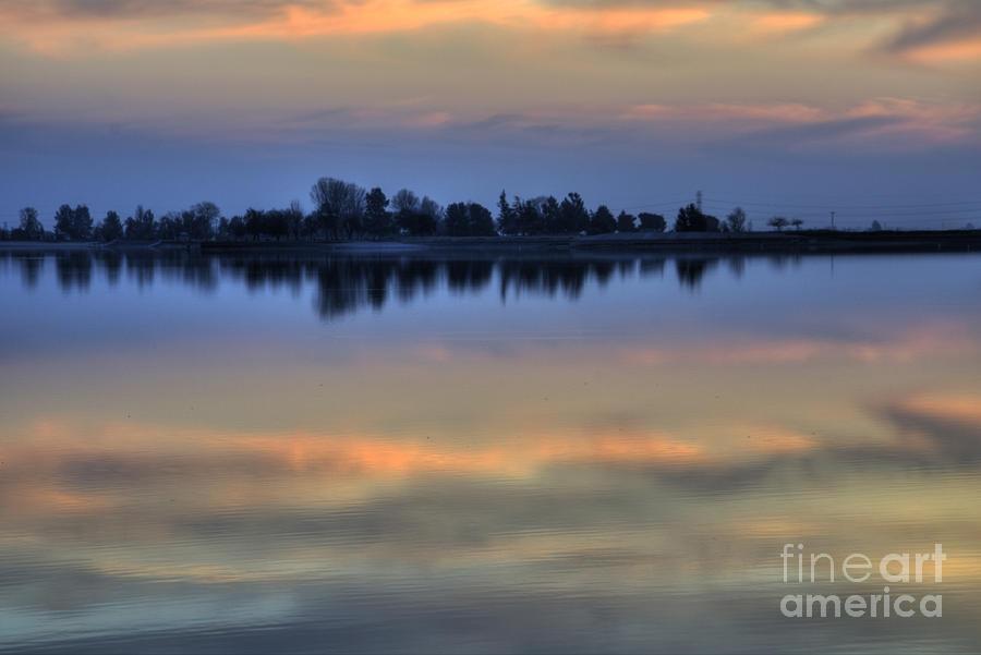 Lake Photograph - Lake Sunset by Jim And Emily Bush