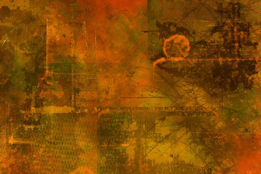 Landscape Painting - Landscape Of Mars by Christopher Gaston