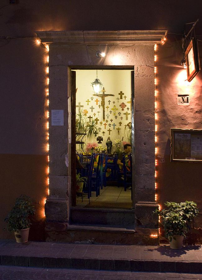 Restaurant Photograph - Las Cruces by Lynn Palmer