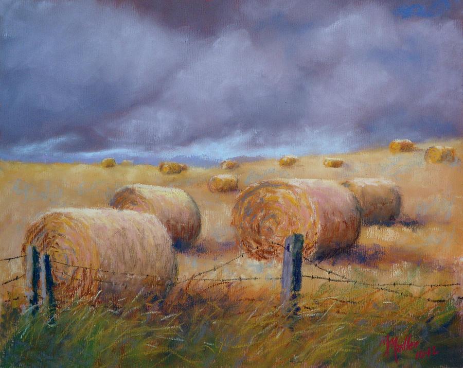 Last Crop Pastel by Marcus Moller