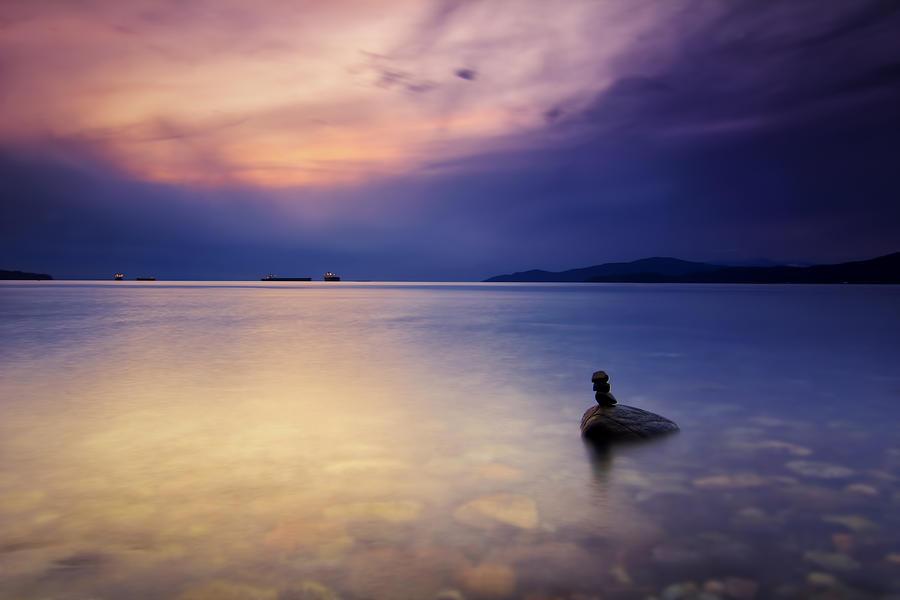Seascape Photograph - Last Man Standing by Jorge Ligason