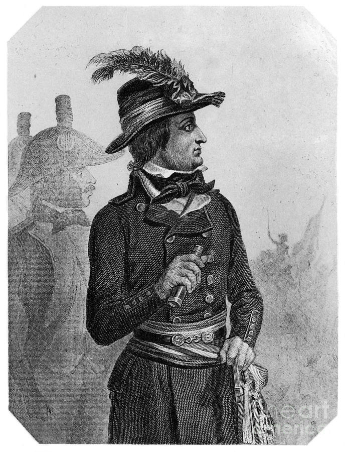 1790s Photograph - Lazare Carnot (1753-1823) by Granger