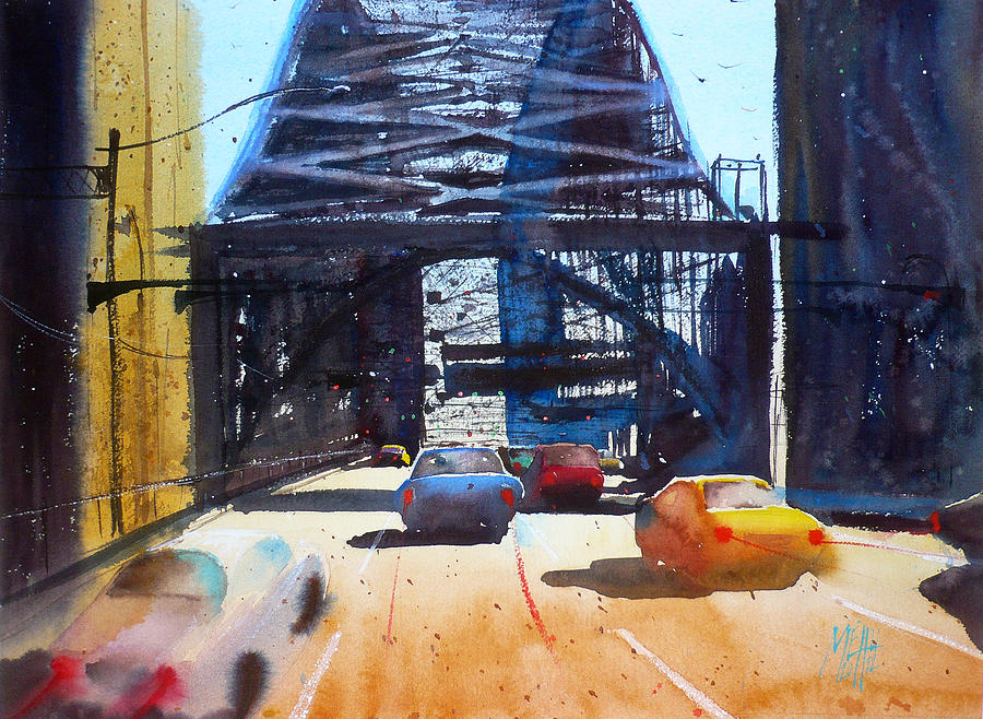 Learning from alvaro castagnet painting by andre mehu for Watercolor art prints for sale