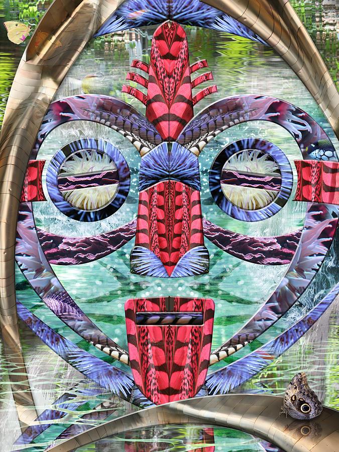 Kell Digital Art - Lightening Struck Thunder Followed by Leslie Kell