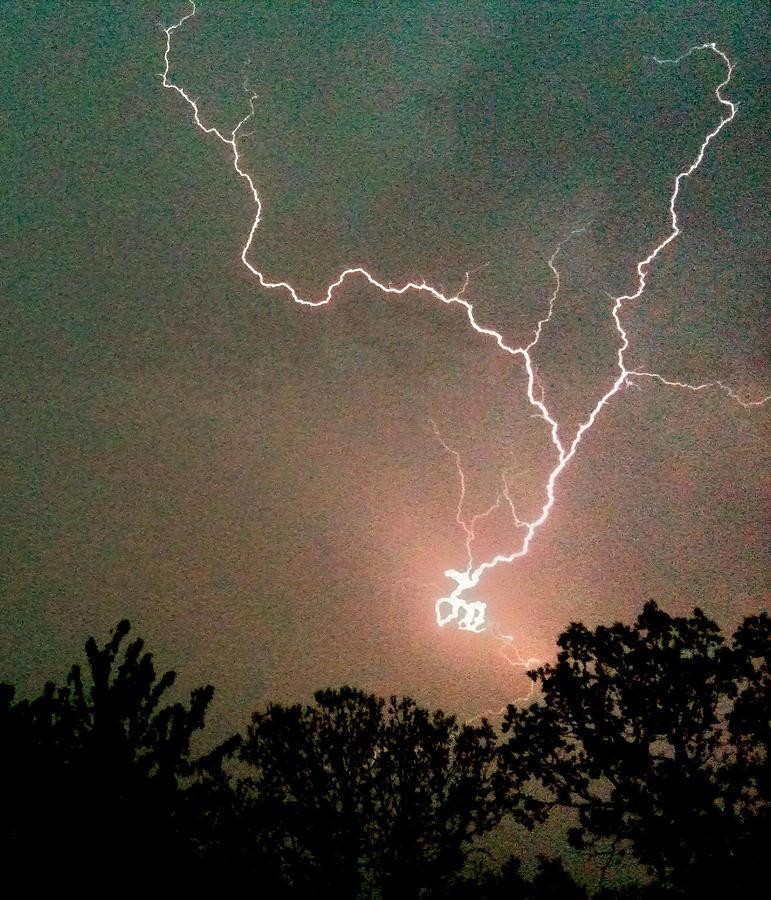 Lightning Strike Photograph by Kristina Chapman